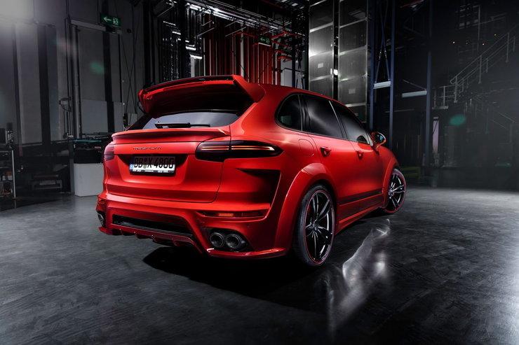 Porsche Cayenne TechArt Magnum 4