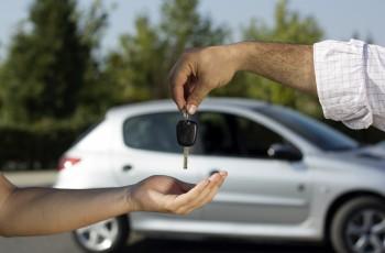Car-key-handover