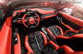 Ferrari 458 Spider od Carlex Design