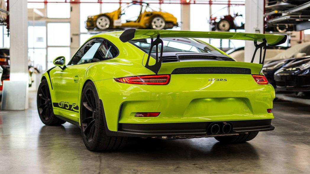 Porsche GT3 RS limonka 2