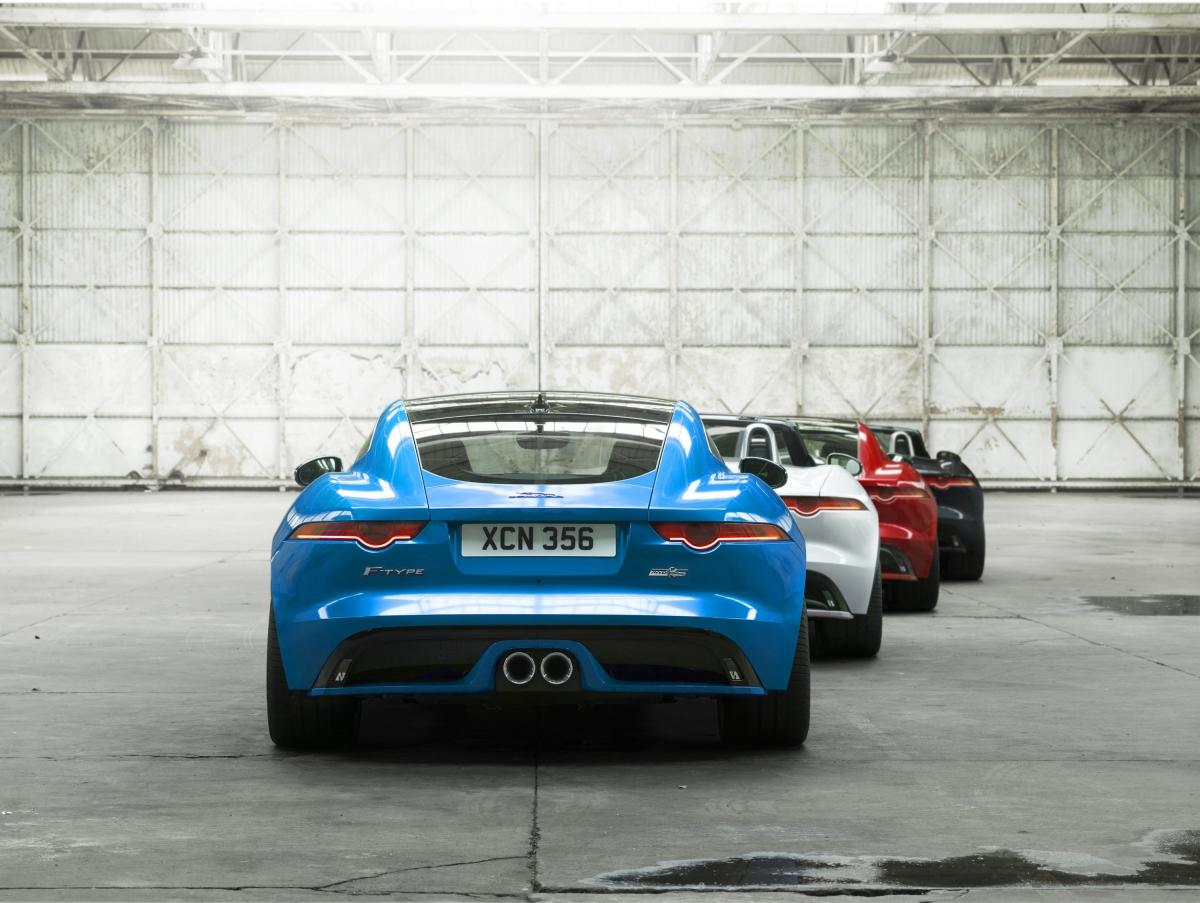 Jaguar F-TYPE British Design Edition 2