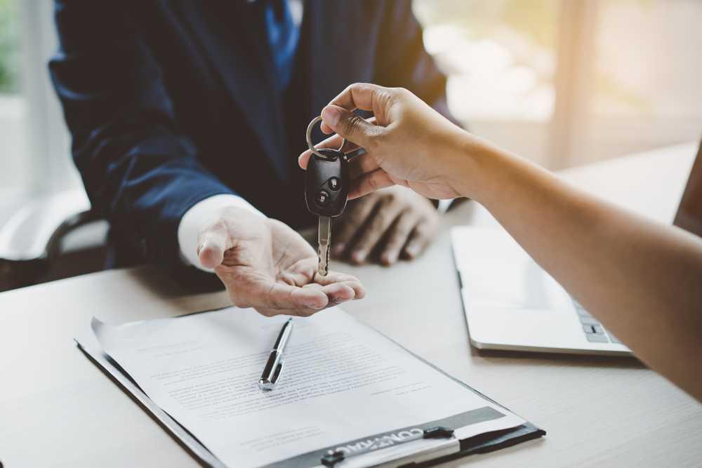 Podpisanie umowy kupna-sprzedaży samochodu wNorwegii